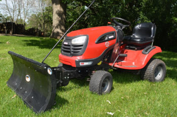Lawn Tractor and Riding Mower Plows